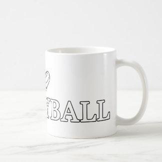 I Love Volleyball Coffee Mug