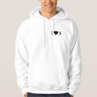 I Love Volleyball (Female) Hoodie