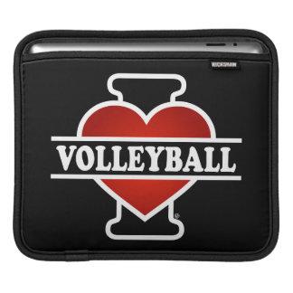 I Love Volleyball iPad Sleeve