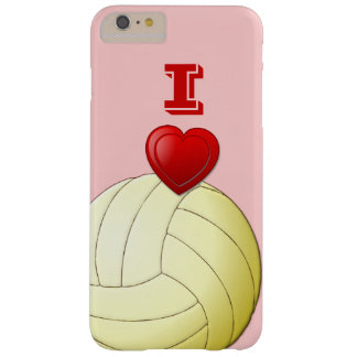 I LOVE  VOLLEYBALL iPhone 6/6S Plus Case