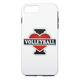 I Love Volleyball iPhone 8 Plus/7 Plus Case