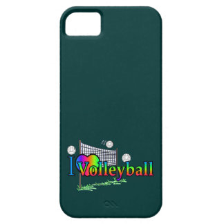 I Love Volleyball iPhone SE/5/5s Case