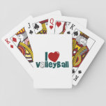 "I Love Volleyball Playing Cards<br><div class=""desc"">THANK YOU FOR CHECKING OUT MY DESIGN! :-) Here is to all you gals out there who play and love this awesome sport! Let the world know you love your game! :p Anyway... by clicking the &quot;Customize it&quot; button, you can make various changes depending upon what product it is, like...</div>"