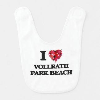 I love Vollrath Park Beach Wisconsin Bibs