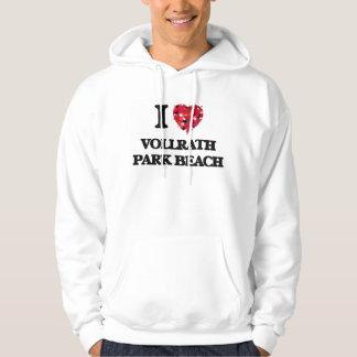 I love Vollrath Park Beach Wisconsin Hoodie