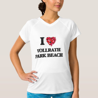 I love Vollrath Park Beach Wisconsin Shirt