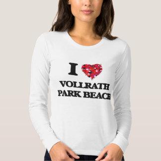 I love Vollrath Park Beach Wisconsin T Shirts