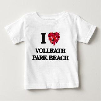 I love Vollrath Park Beach Wisconsin T-shirts