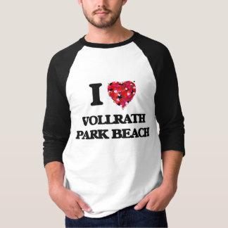 I love Vollrath Park Beach Wisconsin Tees