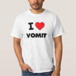 I love Vomit T-shirts