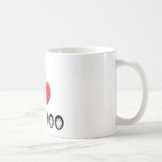I LOVE VOODOO COFFEE MUG