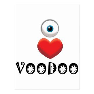 I LOVE VOODOO POSTCARD