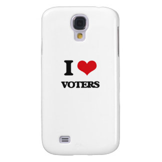I love Voters Samsung Galaxy S4 Cases