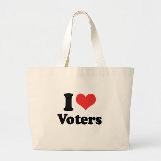 I LOVE VOTERS - .png Bag