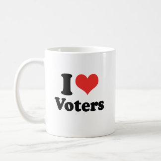 I LOVE VOTERS - .png Coffee Mug