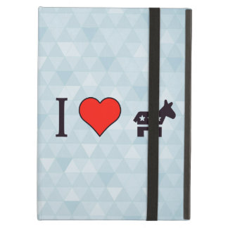 I Love Voting For Donkeys Case For iPad Air