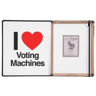 i love voting machines covers for iPad