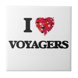 I love Voyagers Small Square Tile