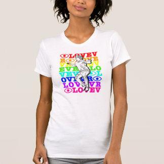 I Love VR Ladies Rainbow T-Shirt