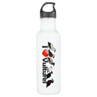 I Love Vultures (Eurasia) Stainless Steel Water Bottle