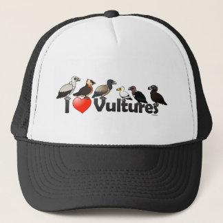 I Love Vultures (Eurasia) Trucker Hat