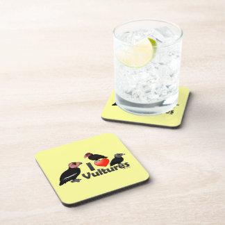 I Love Vultures (North America) Beverage Coaster
