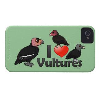 I Love Vultures (North America) Case-Mate iPhone 4 Case