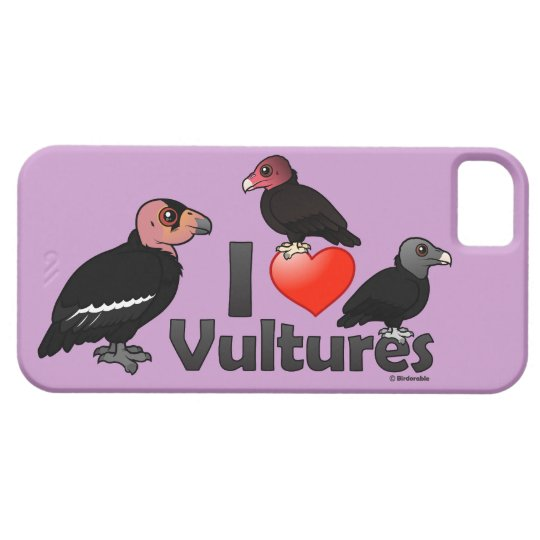 I Love Vultures (North America) iPhone SE/5/5s Case