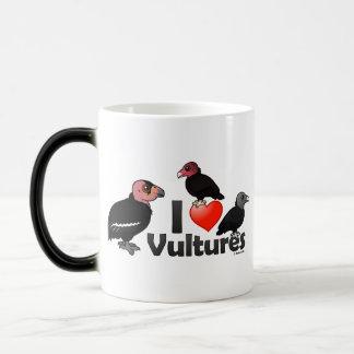 I Love Vultures (North America) Magic Mug