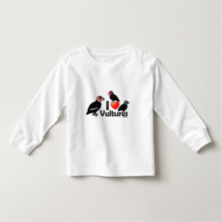 I Love Vultures (North America) Toddler T-shirt