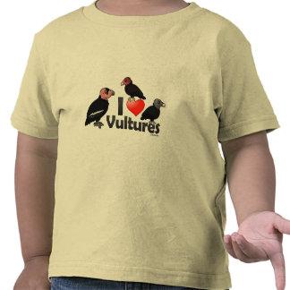 I Love Vultures (North America) Shirts