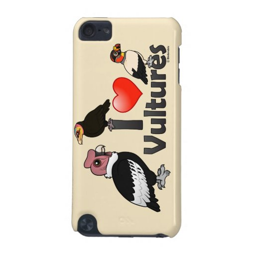 I Love Vultures (South America) iPod Touch 5G Cover