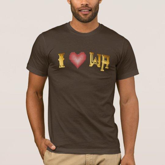 I Love WA Shirt