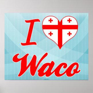 I Love Waco Georgia Poster