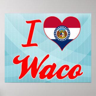 I Love Waco Missouri Print