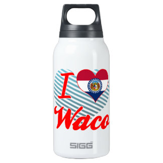 I Love Waco, Missouri 10 Oz Insulated SIGG Thermos Water Bottle
