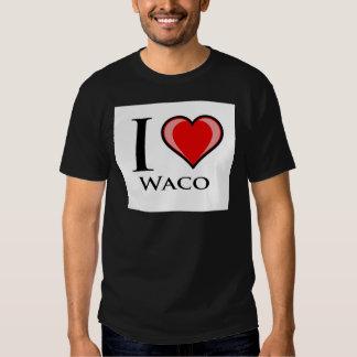 I Love Waco T Shirt