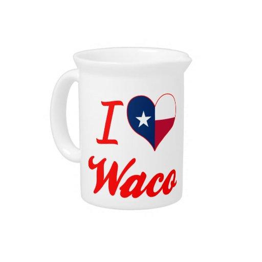 I Love Waco, Texas Pitchers