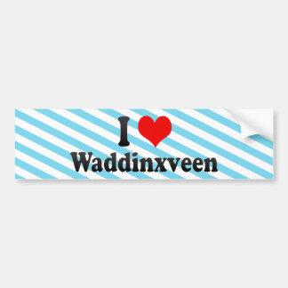 I Love Waddinxveen, Netherlands Bumper Sticker