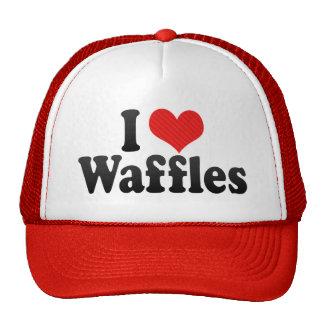 I Love Waffles Trucker Hat