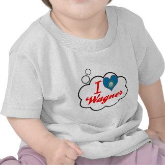 I Love Wagner, South Dakota Tshirts