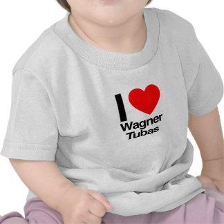 i love wagner tubas t-shirts