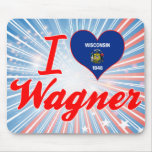 I Love Wagner, Wisconsin Mousepads