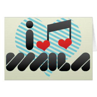 I Love Waila Card