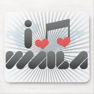 I Love Waila Mouse Pad