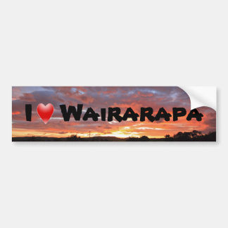 I Love Wairarapa Bumper Sticker