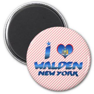 I love Walden, New York Refrigerator Magnets