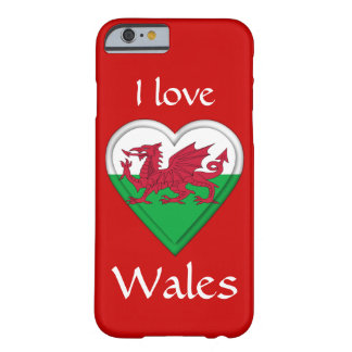 I love Wales Barely There iPhone 6 Case