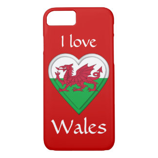 I love Wales iPhone 7 Case