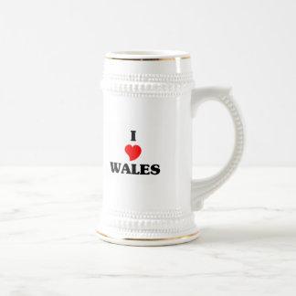 I Love Wales Coffee Mugs
